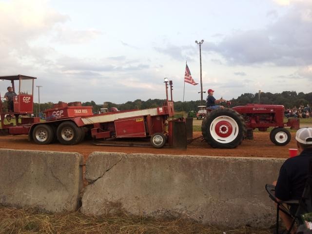 Silk Hope Tractor Pull 2014